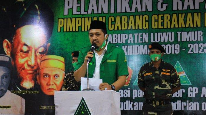 GP Ansor Lutim Sebut Puspawati Husler Layak Dampingi Budiman