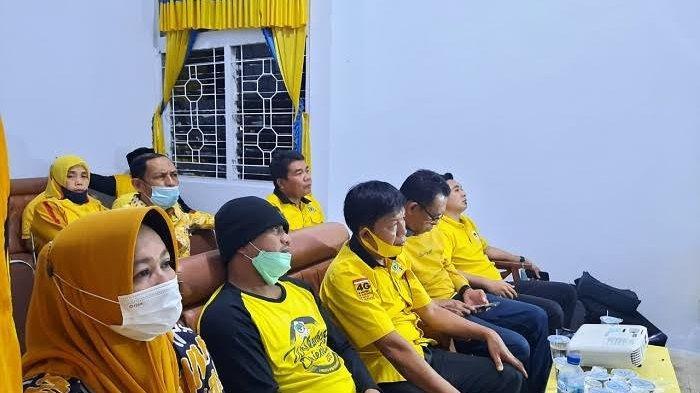 Jelang Pilkada, Wakil Bupati Sinjai Ajak Kader Golkar Jaga Soliditas Partai