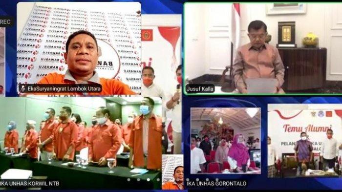 Jusuf Kalla Lantik Pengurus IKA Unhas di 3 Provinsi, NTB, Gorontalo dan Sumut, Ini Pesan ke Alumni?