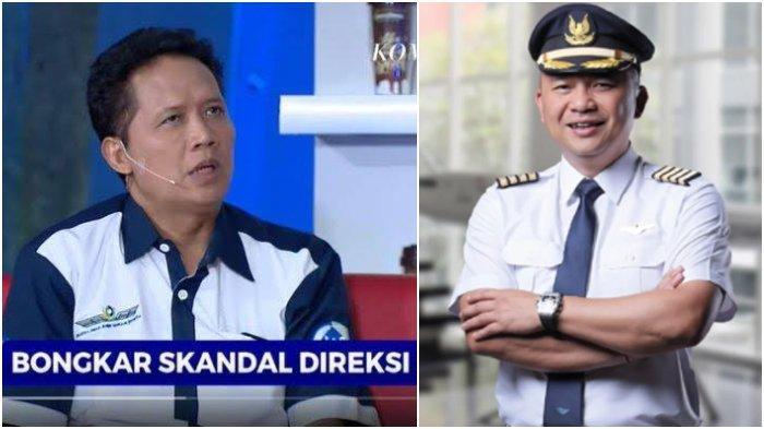 Vokal Sorot Ari Askhara, Ikatan Awak Kabin Garuda Indonesia IKAGI Kini Tersandung Masalah, Bukti