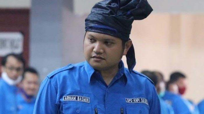 Ketua KNPI Sulsel Arham Basmin Umumkan Diri Positif Covid-19