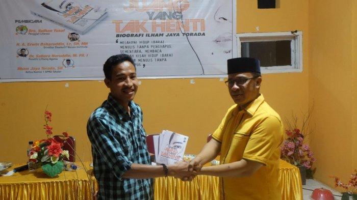 Ketua Komisi Satu DPRD Takalar Luncurkan Buku 'Inilah Juang yang Tak Henti'