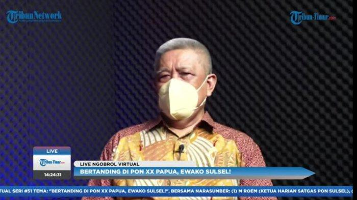 PON XX Papua, M Roem Ungkap Terbatasnya Anggaran Kontingen Sulsel