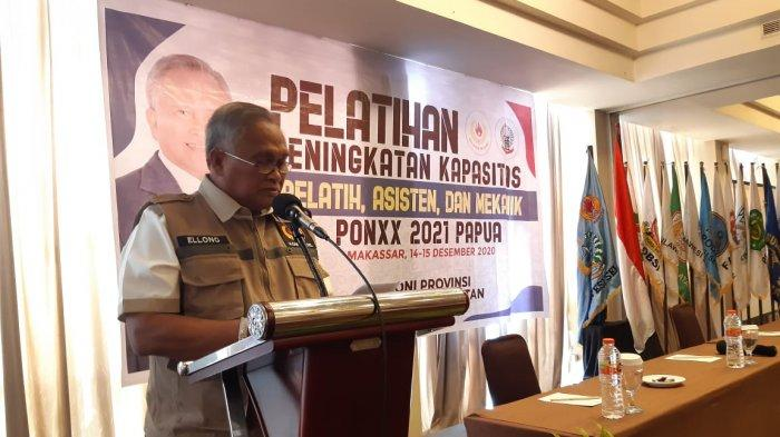 KONI Sulsel Optimistis Masuk 10 Besar di PON Papua 2021, Ellong Tjandra: Kita Pernah Ranking 4