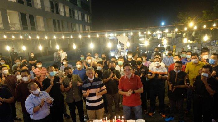 Tradisi MCC di Milad Liem Tjong San di Claro, dapat Kejutan hingga Ucapan dari Mantan Kapolda Sulsel