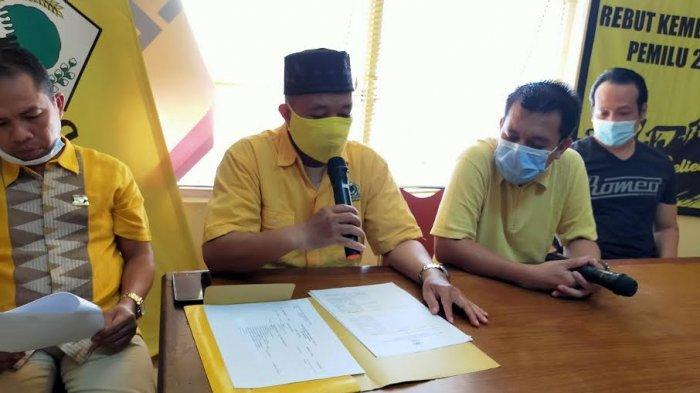 Verifikasi Bacalon Ketua Golkar Makassar, Munafri Arifuddin dan Juniar Arge Lolos