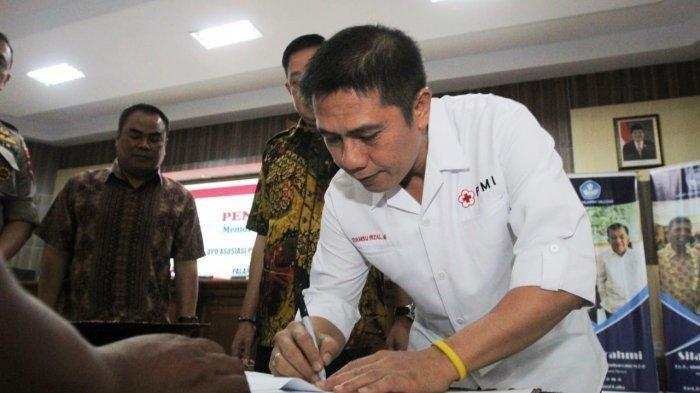 Lawan Covid-19, PMI Makassar Dirikan Laundry Basmi Kuman