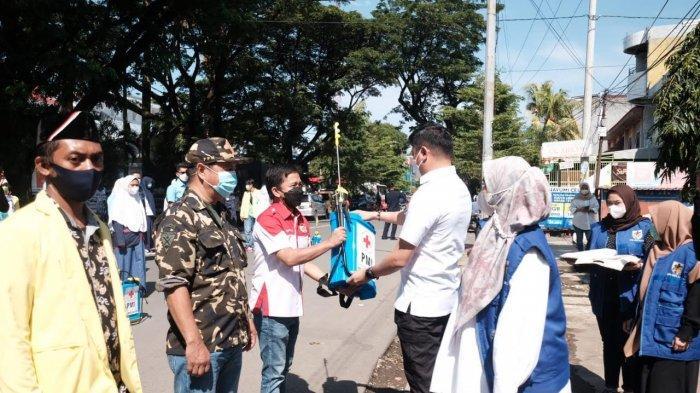 Jelang Ramadan, PMI Sulsel Gandeng OKP Lakukan Sterilisasi di Masjid