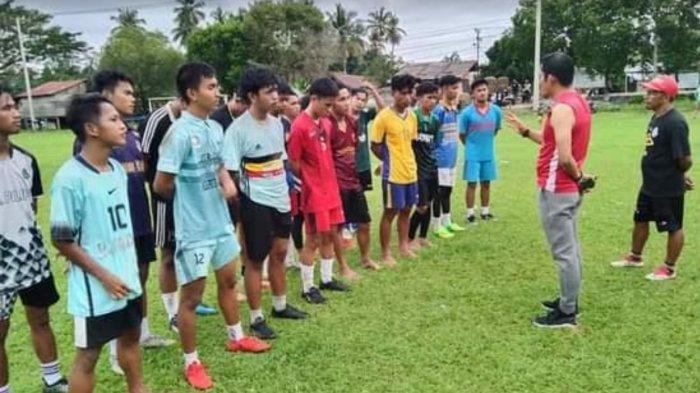 Usai Libur Panjang, Pelatih Genjot Latihan Pemain Pra Porprov Luwu Utara