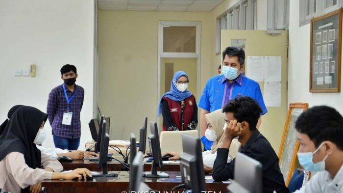 Pantau UTBK-SBMPTN Unhas di Kampus Gowa, Prof Restu: Kampus Gowa Punya Sarana Prasarana Memadai