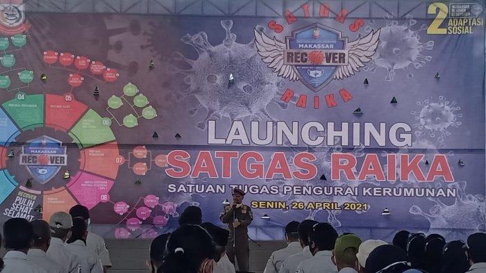 Makassar Gaspoll! Pengunjung Warkop Dites Swab oleh Satpol PP dan Satgas, Positif Langsung Isolasi