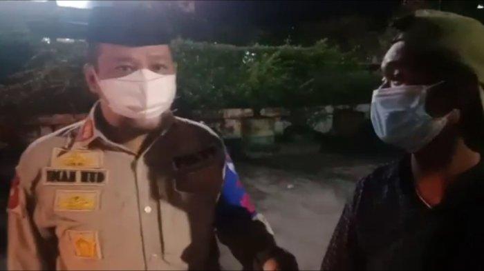 Patok Tarif Parkir Rp10 Ribu, Satpol PP Makassar Tindak 2 Jukir Nakal di Sekitar Mal Panakkukang