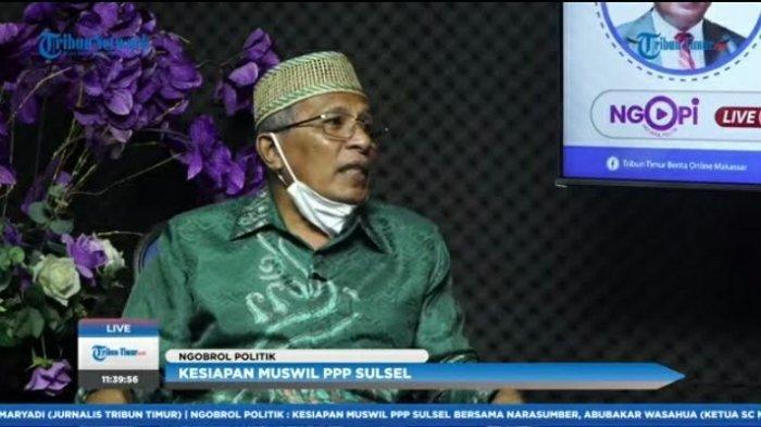 Soal Kriteria Ketua DPW PPP Sulsel, Abubakar: Punya Integritas Keummatan