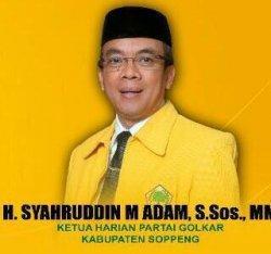 Lawan Kotak Kosong, Ketua DPRD Soppeng Ditunjuk Jadi Ketua Tim Kampanye Akar-LHD