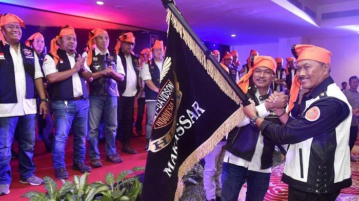 Usai Tour Celebes Trans Equatouring 2019 Pengurus HDCI Makassar dan Kendari Dilantik Nanan Soekarna
