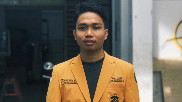 TRIBUNWIKI: Nopri Hidayat Terpilih Jadi Ketua LPM Penalaran UNM 2021, Berikut Profilnya