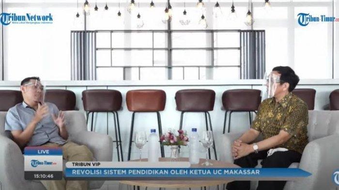 Cerita Tony Antonio Bangun Sekolah Bisnis ala Konteks Makassar
