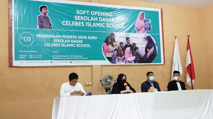 Hayarna Basmin Dirikan Sekolah Dasar Berkarakter Islami di Luwu