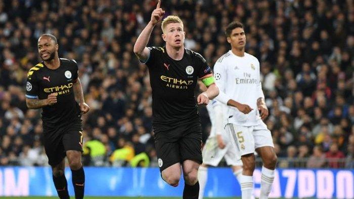 Hasil Liga Champions, Diwarnai Kartu Merah, Man City Permalukan Real Madrid di Santiago Bernabeu