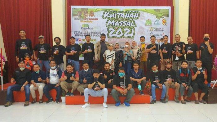 HAI Makassar Bersama Pegadaian Syariah Gelar Khitanan Massal