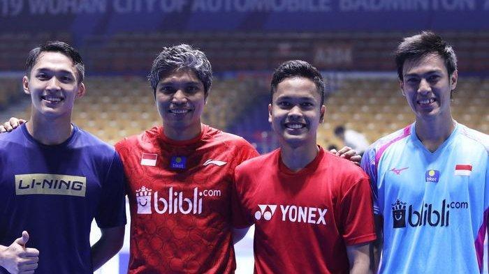 Hasil Indonesia Masters 2020 Hari ke-2, 12 Wakil Indonesia Lolos ke Babak Kedua