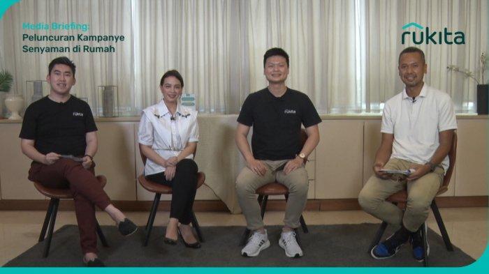 Rukita Perkenalkan Kampanye Senyaman di Rumah