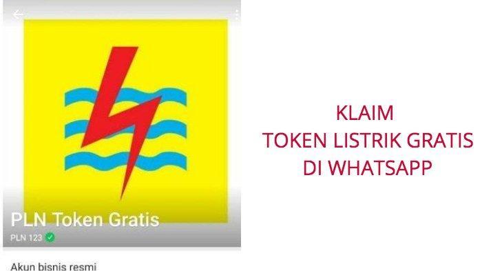 Cara Klaim Token Listrik Gratis PLN Via WhatsApp 08122123123 Mulai Hari Ini, Bisa Juga Via pln.co.id
