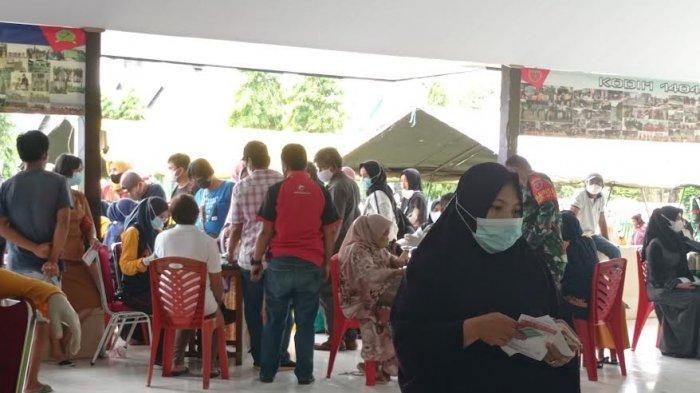 Baru Jam 10 Pagi, Sudah Ada 717 Warga  Antri Divaksin di Kodim 1404 Pinrang