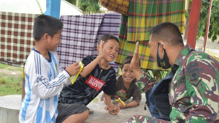 5.264 Warga Majene dan Mamuju Korban Gempa Masih Mengungsi di Polman