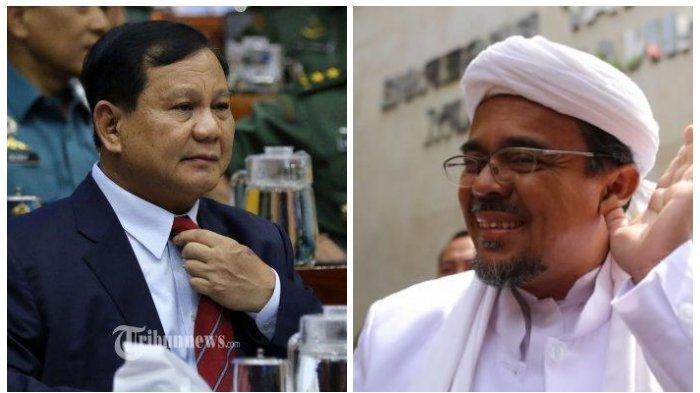 KABAR BURUK Prabowo soal Pilpres 2024, Pendukung Habib Rizieq dan PKS Minta Ini ke Menteri Jokowi
