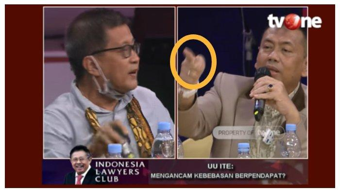 DEBAT PANAS Rocky Gerung vs Kapitra dan Anak Buah Jokowi di ILC TV One, SBY dan Habibie Terseret