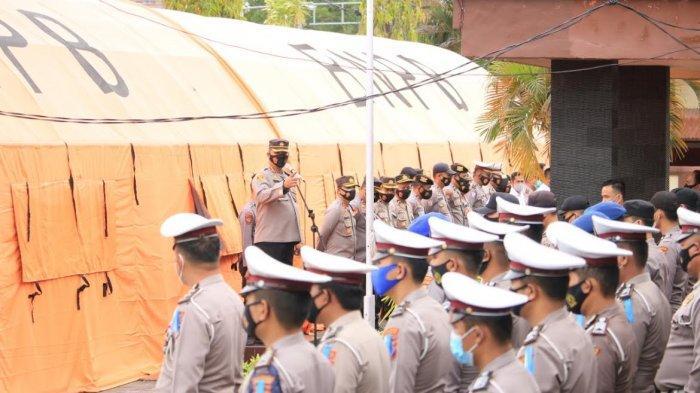 Ramadan, Kapolresta Mamuju Minta Seluruh Polisi Gelar Patroli dan Cipta Kondisi Setiap Malam