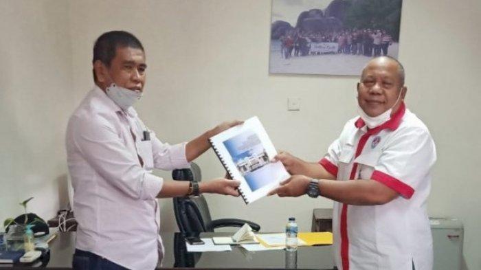 DPRD Barru Ajukan Proposal Pembangunan Stadion Ramang ke Kementerian Olahraga