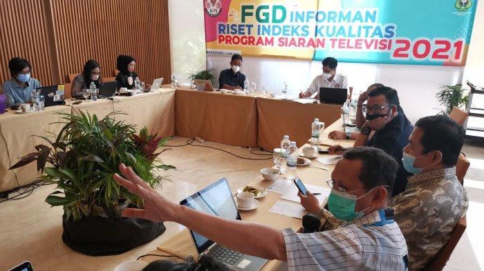 FOTO: KPI-Unhas Gelar FGD Riset Indeks Kualitas Program Siaran Televisi 2021