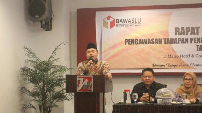 Bawaslu Minta Jajaran Pengawas Pemilu di Sulbar Maksimalkan Pengawasan Partisipatif