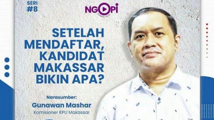 Cerita Gunawan Mashar Seusai Pendaftaran Empat Bakal Paslon di KPU Makassar