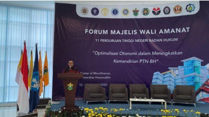 Terpilih Ketua Forum MWA PTNBH se-Indonesia, Syafruddin Jadi Komandan Direktur, Menteri, Ketua MA