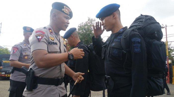 BREAKING NEWS : Personel Brimob Bone Ditugaskan ke Papua Barat