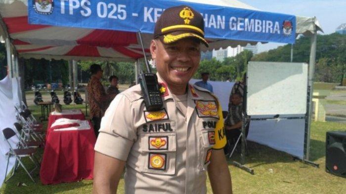 Sosok Kompol Saiful Anwar Berani Bubarkan Relawan FPI di Tengah Banjir Jakarta Meski Munarman Protes