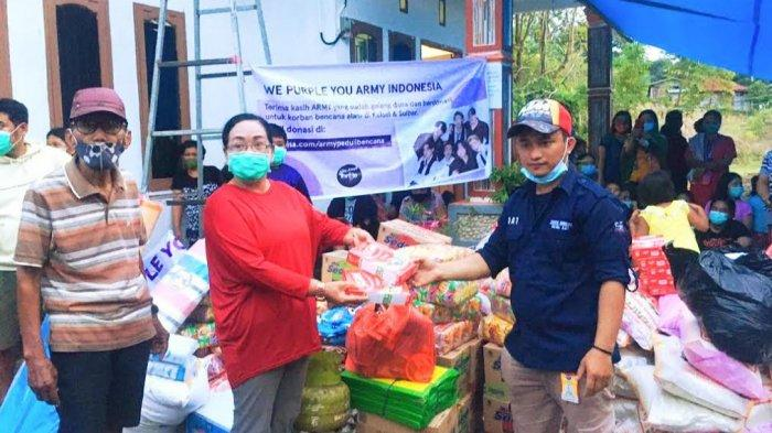 Aku Anak Toraja Salurkan Alat Masak hingga Perlengkapan Bayi ke Korban Gempa Sulbar
