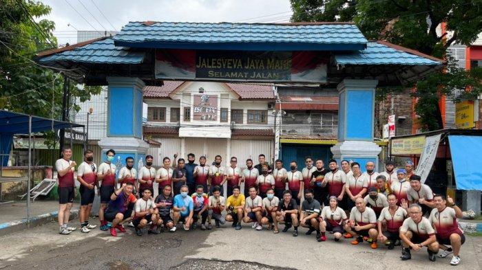 Eratkan Silaturahmi, Makassar Cycling Club Gowes Bareng Pagi Ini, Dirangkaikan Makan Opor Ayam