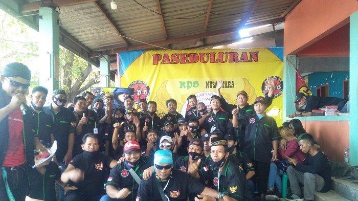 Komunitas Pedagang Bakso Makassar Temu Kangen di Tanjung Bayang Makassar