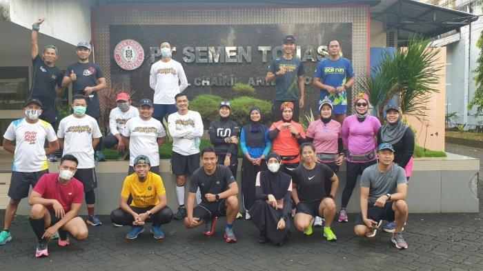RIOT Makassar dan Tonasa Runners Rawat Silaturahmi di Masa Pandemi dengan Berlari