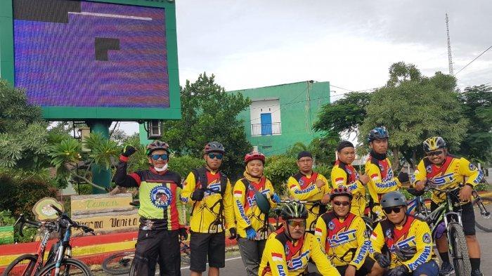 Komunitas Sepeda Turatea Jeneponto Hilangkan Stres Lewat Gowes