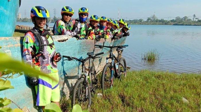 Terbentuk 2005, Komunitas Sepeda PDAM Makassar Eksis Hingga Kini