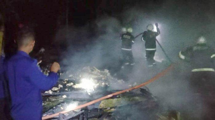 Tengah Malam Kebakaran di Palopo, Gara-gara Edi Merokok