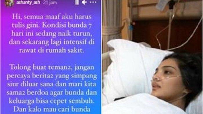 Kondisi Terkini Ashanty Usai Trending Topik, Asisten Ungkap Kesehatan Istri Anang Hermansyah di RS