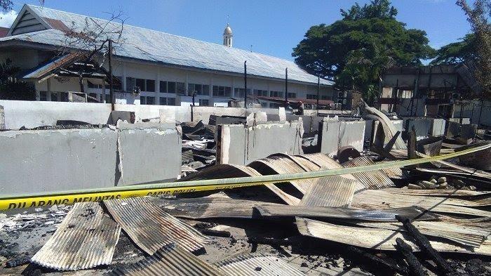 Sudah Dua Pekan Lebih, Penyebab Kebakaran Kampus Unanda Palopo Belum Terungkap