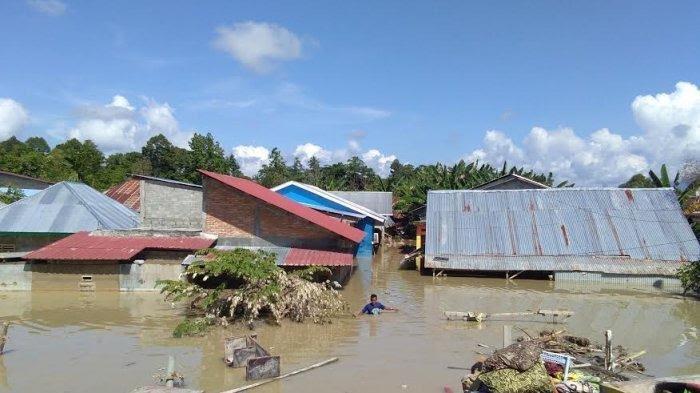 Korban Banjir Bandang di Kampung Lombok Luwu Utara Tolak Pembangunan Tanggul