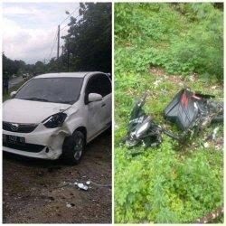 Empat Kecelakaan Akibat Galian Lubang Jalan di Bone, Tiga Luka dan Satu Meninggal Dunia
